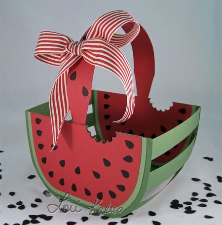 Watermelon basket and card empty 2 (Large)